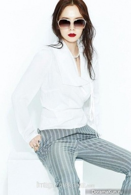 Song Ji Hyo для Harper's Bazaar April 2015 Extra