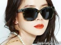 Song Ji Hyo для Harper's Bazaar April 2015