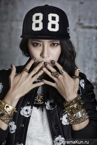 Song Ji Hyo для NBA 2015 CF