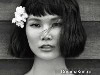 Song Kyung Ah для Singles April 2014