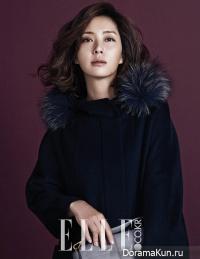 Song Yoon Ah для Elle October 2014