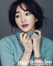 Soo Ae для Marie Claire December 2014