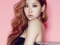 Sistar (Soyou) для Cosmopolitan Korea December 2014