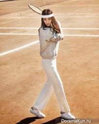 Stephanie Lee для Singles April 2015
