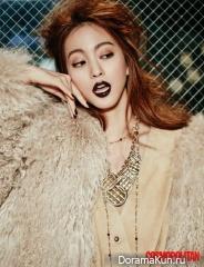 Han Ye Seul, Sung Joon для Cosmopolitan December 2015 Extra