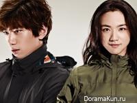 Sung Joon, Tang Wei для KOLON SPORT F/W 2014 CF