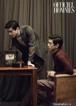 Sung Joon для L'Officiel Hommes August 2015