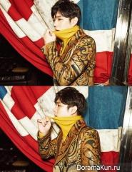 Super Junior (Kangin) для InStyle February 2015 Extra