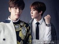 Super Junior (Donghae, Eunhyuk) для Men's Uno September 2015