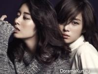 T-Ara (Eun Jung, Hyo Min, Ji Yeon) для Singles November 2014