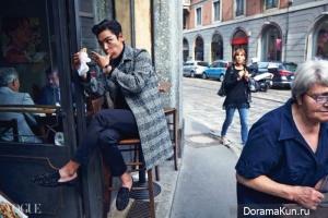 Big Bang (T.O.P) для Vogue November 2014