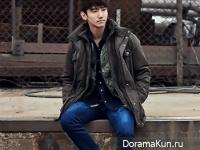 TVXQ (Changmin) для Grazia November 2015