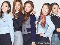 J.Y. Park, TWICE для Skoolooks 2015 CF