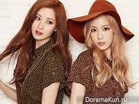 SNSD (Seohyun, Taeyeon, Tiffany) для MIXXO 2015 CF Extra