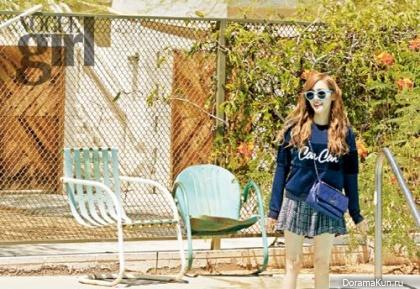 SNSD (Tiffany) для Vogue Girl October 2014