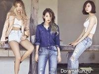 Wonder Girls для Grazia August 2015