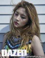Yeo Hye Won для Dazed June 2015