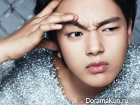 Lee Min Ki, Yeo Jin Goo для Elle January 2015