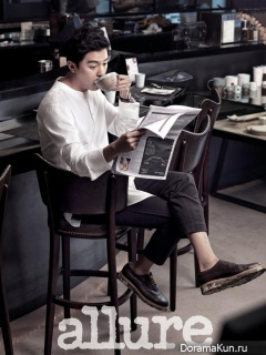 Yeon Woo Jin для Allure October 2014