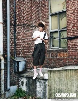 Yeon Woo Jin для Cosmopolitan May 2015 Extra