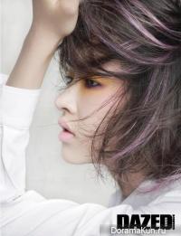Yoo Ji Ahn для Dazed and Confused 2014