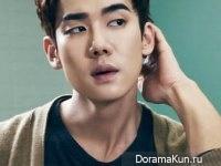 Kim Bum, Yoo Yeon Seok для Cosmopolitan January 2015