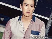 Yoo Yeon Seok для Cosmopolitan September 2014 Extra