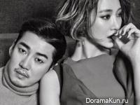 Yoon Kye Sang, Go Joon Hee для InStyle 2014