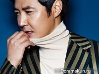 Yoon Sang Hyun для Cosmopolitan December 2014
