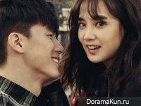 Yoon Seung Ah, Kim Moo Yeol для Elle March 2015 Extra 2