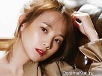 Yoon Seung Ah для InStyle November 2015