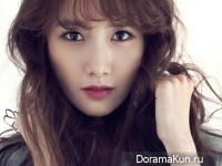 Yoona (SNSD) для InStyle December 2014