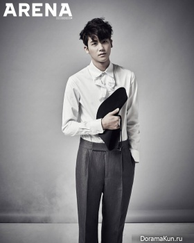 ZE:A (Hyungsik) для Arena Homme Plus January 2015