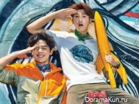 ZE:A (Hyungsik, Dongjun) для Cosmopolitan May 2015