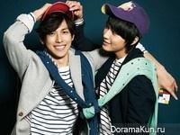 Yeo Jin Goo, Lee Min Ho, Siwan для Singles 2012