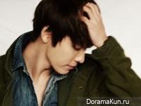 Donghae (Super Junior) для Elle Girl Korea 2012