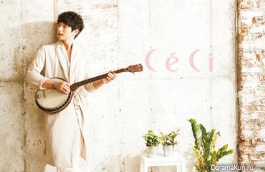 Jinwoon для CeCi February 2013