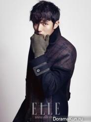 Seulong (2AM) для Elle Girl December 2012