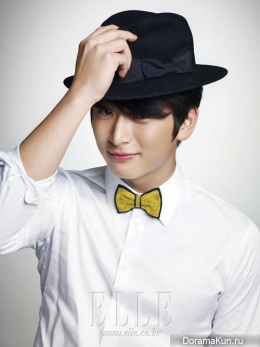 Jinwoon (2AM) для Elle November 2012