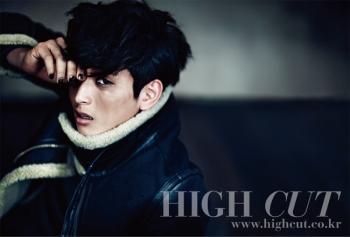 2AM's Jinwoon для High Cut Vol. 65