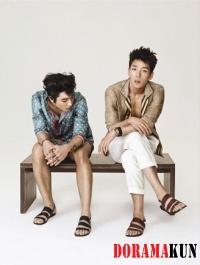 2AM's Jinwoon, Changmin для High Cut Vol. 80 Extra