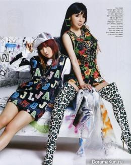 2NE1 для Nylon May 2014