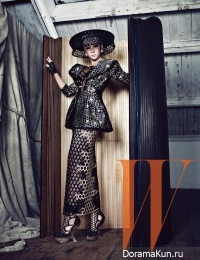CL (2NE1) для W Korea April 2013