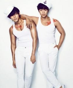 Taecyeon, Junho (2PM) для Cosmopolitan June 2012