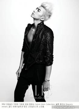 Wooyoung (2PM) для Elle Magazine August 2012