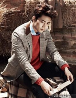 2PM (Taecyeon) для InStyle Korea September 2013