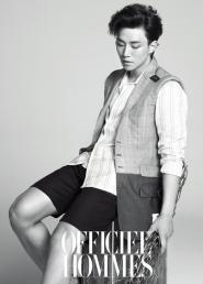 2PMs Junho для LOfficiel Hommes Korea July 2012