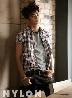 2PM's Taecyeon, Wooyoung для Nylon Korea May 2012