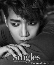 2PM (Jun.K) для Singles June 2014