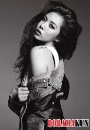 Hyuna (4Minute) для Bubble Pop! Jacket Photo